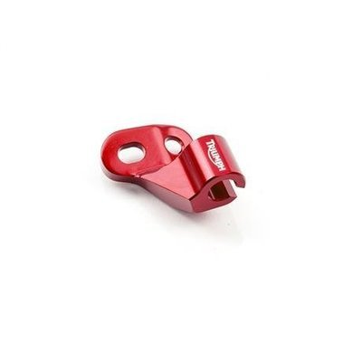 MACHINED CLUTCH CABLE GUIDE - RED