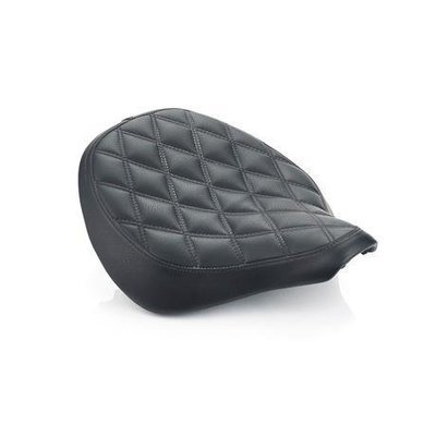 BLACK QUILTED SEAT