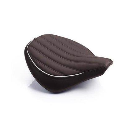 Brown Ribbed Seat