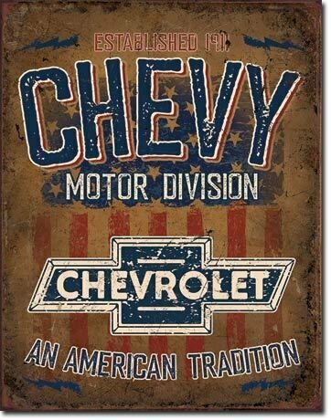 """CHEVY  """"Ameican Tradition"""""""