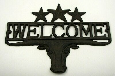 Steer 3 Star Welcome Plaque