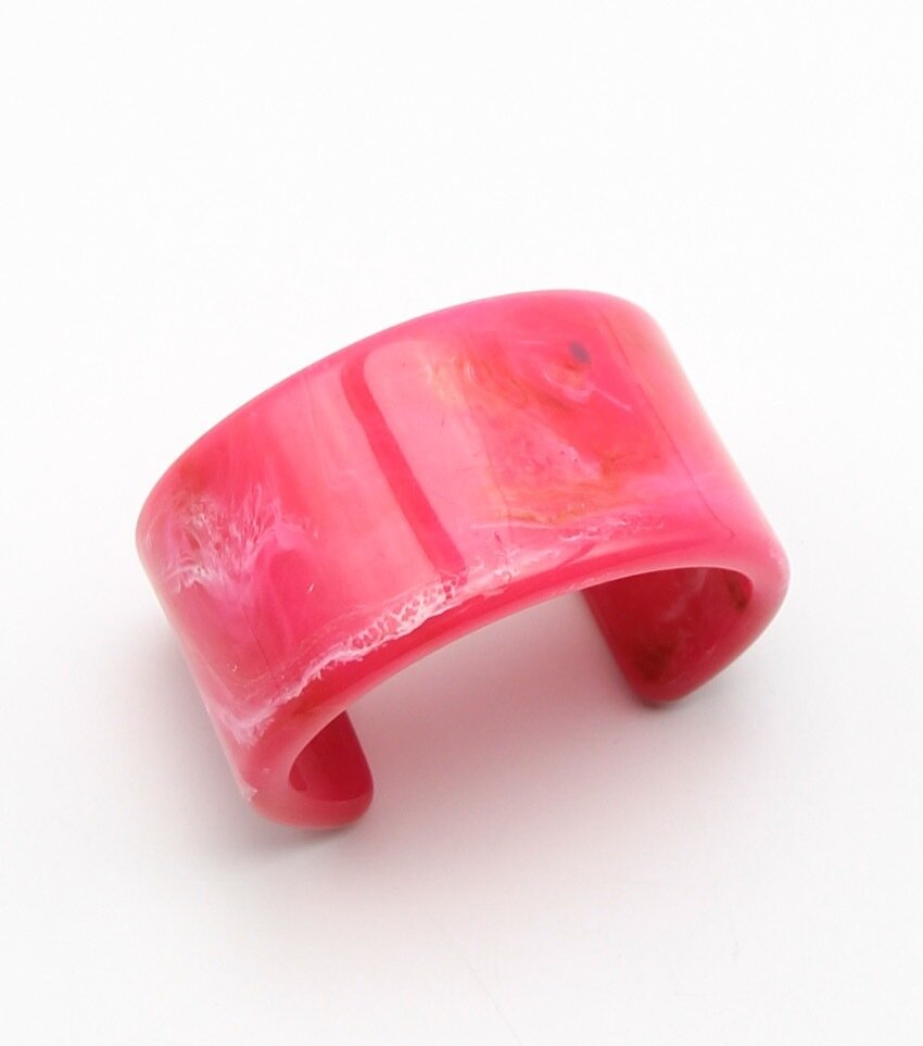 Marbleized Cuff Bracelet