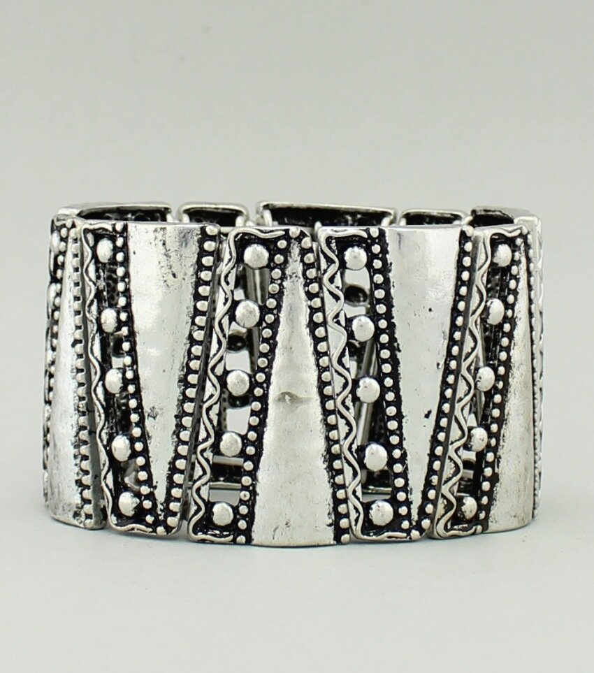 Craft Metal Stretch Bracelet