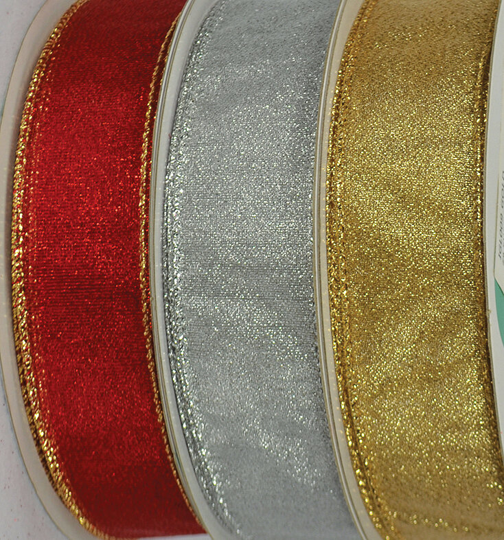 FRO9GOLD - SHEER FROST #9 HOLIDAY RIBBON (Gold Only)