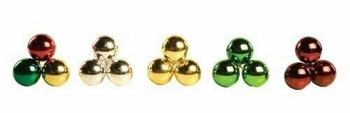 PLX3050RED - 50mm Plastic Ball Pick x 3