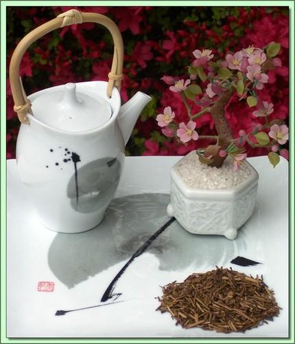 Houjicha-Vanilla Blend (Japan) - 3 oz.