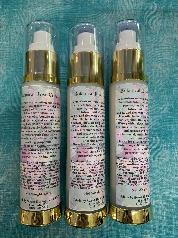 Skin Rejuvenating Botanical Rose Cream