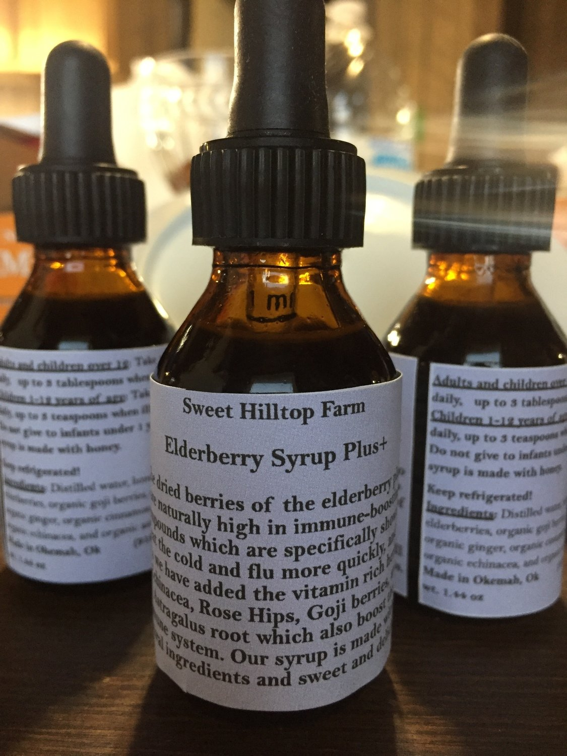 Elderberry Plus+ Syrup (Pickup or Delivery Only)