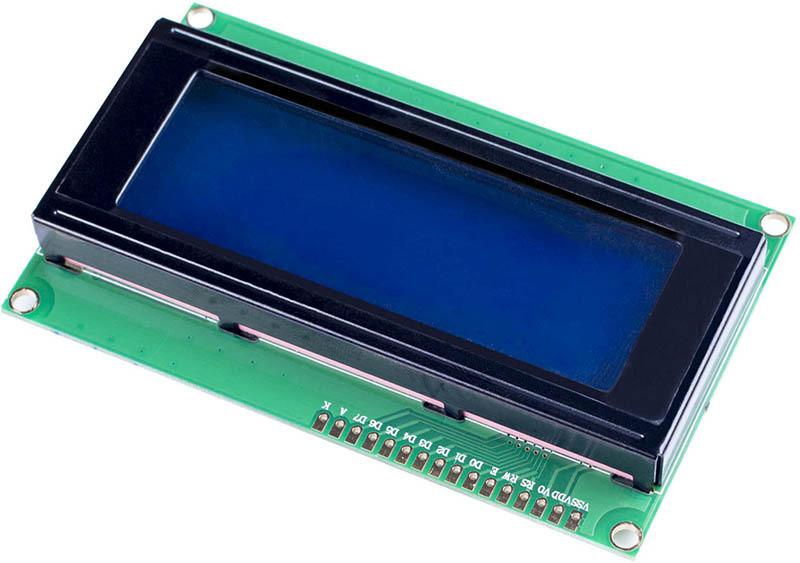 LCD 2004 Display Albastru