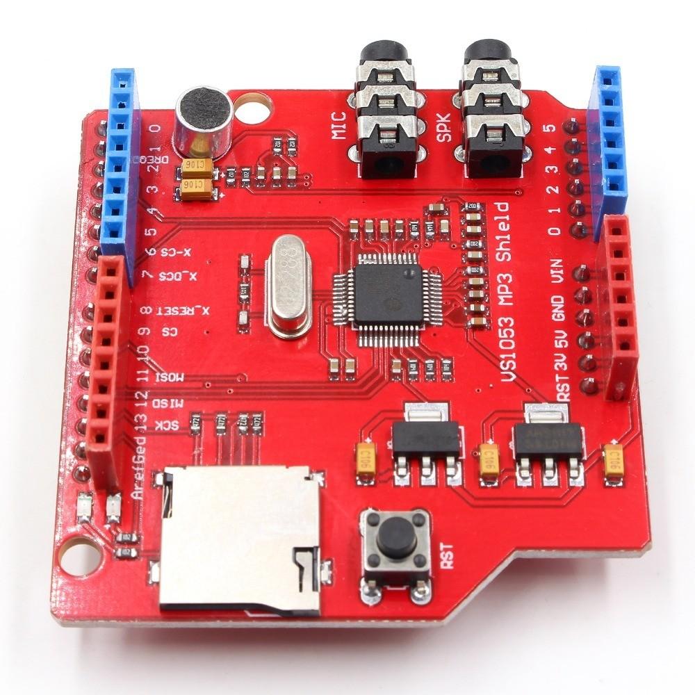 Shield MP3 VS1053 decodor, Uno
