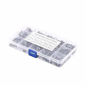Kit set tranzistori TO-92, 600 bucati, 15 valori