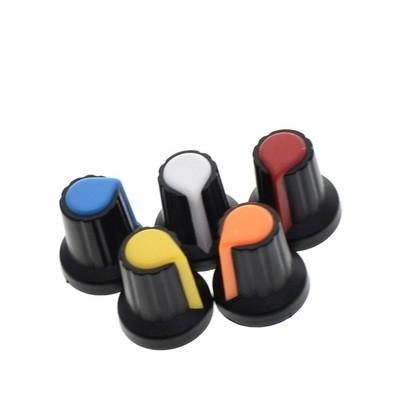 Rotita knob potentiometru 6mm 15x17