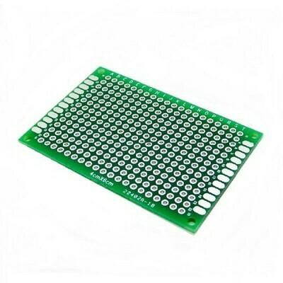 Placa PCB prototipare, o fata, 5x7