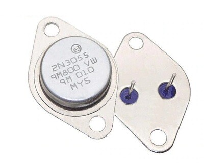 Tranzistor NPN 2N3055, TO-3, 15A, 60V