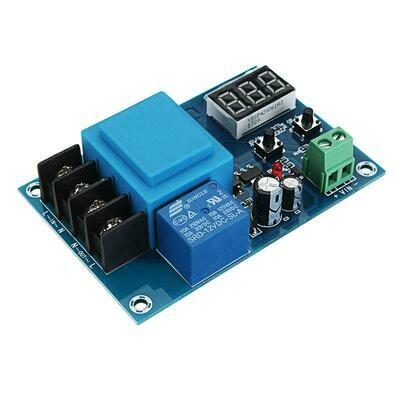 Modul incarcare baterii XH-M602, 220VAC, display