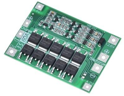 Modul BMS 3S, 60A, 12.6V