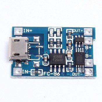 Modul incarcare baterie micro USB 5v litiu 1A
