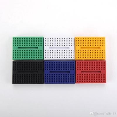 Breadboard 170 puncte, diferite culori