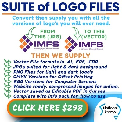 SUPPLY COMPLETE BRANDING PACKAGE OF LOGO's
