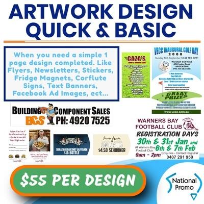 ARTWORK DESIGN - LESS DETAILED