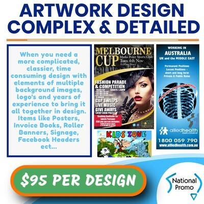 ARTWORK DESIGN - DETAILED & COMPLEX