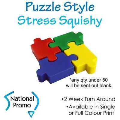 Full Colour Print Puzzle Style Squishy