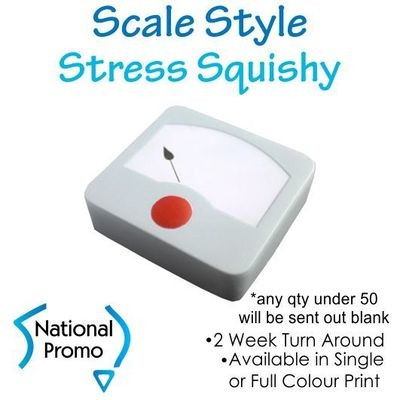 Full Colour Print Scale Style Stress Squishy
