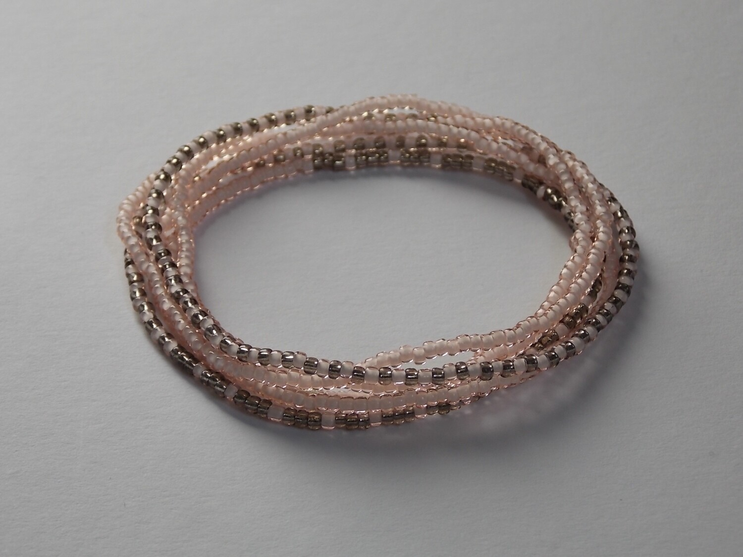Stretch-Armbandkette nude graphit