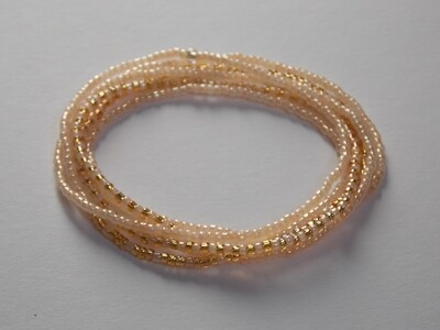Stretch-Armbandkette nude gold