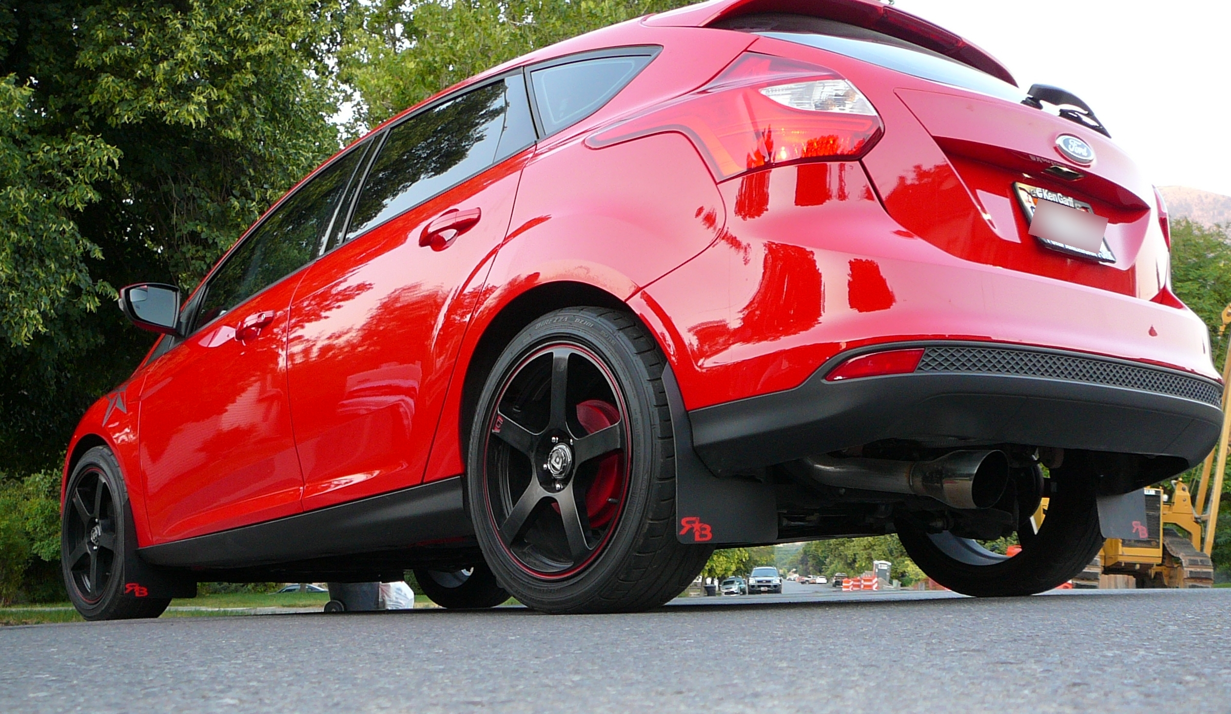 Red Rokblokz Mud Flaps Just Placed An Order