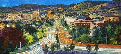 Beyond Boise and the Foothills, 24x72