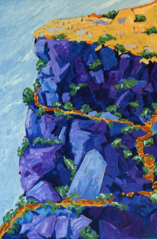 Table Rock, oil, 2020, 24x36