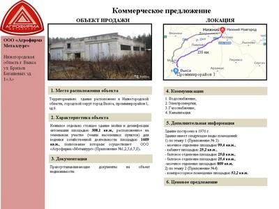 Объект недвижимости - Выкса, Проммикрорайон-1