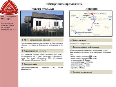 Объект недвижимости - г. Выкса, д. Покровка, Молодежная, 23-1