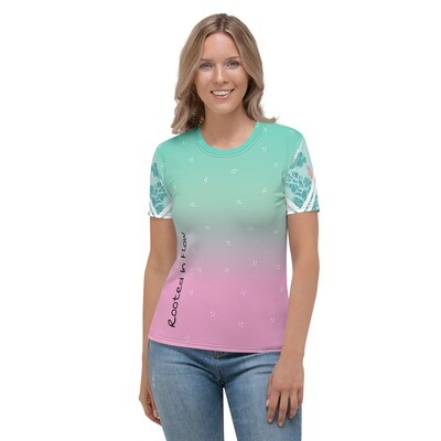Root Alchemy Rooted In Flow Color Fade Women's T-shirt