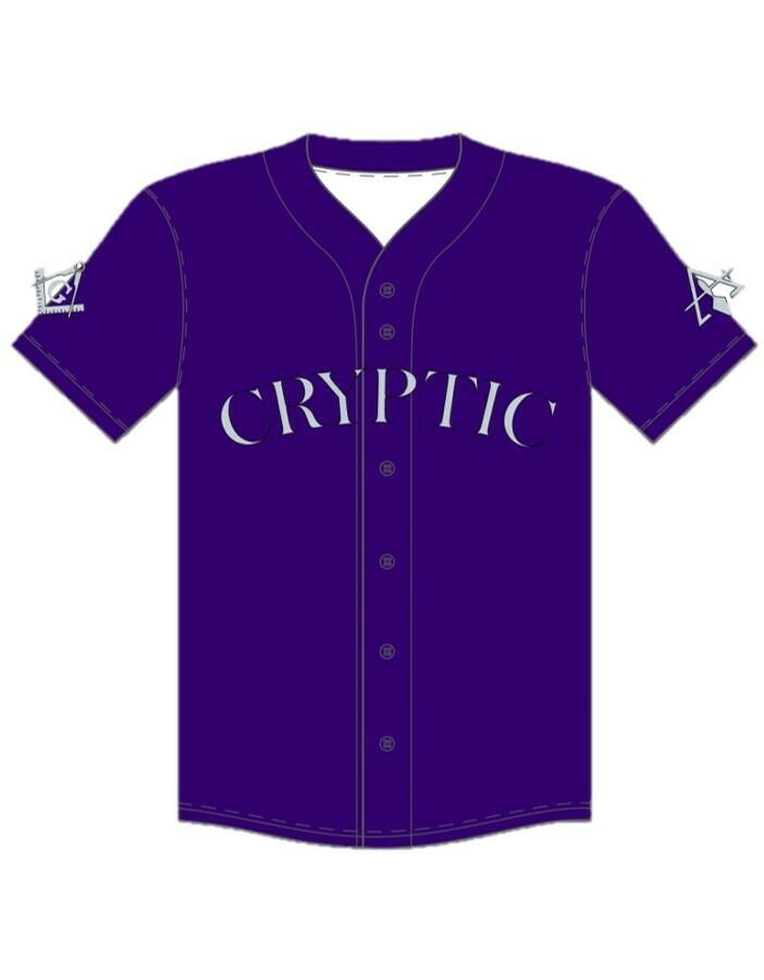 Cryptic Council Baseball Jersey