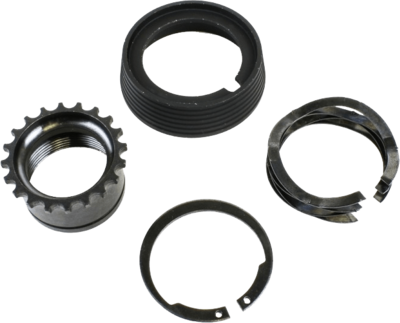 Barrel Nut Kit (A2 Style) - Includes; Delta Ring, Snap Ring, A2 Barrel Nut & Weldon Spring