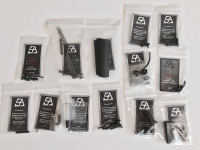 Stealth Arms 1911 .45 ACP Commander Series 70 Complete Lower Parts Kit - No Frame or Upper Slide
