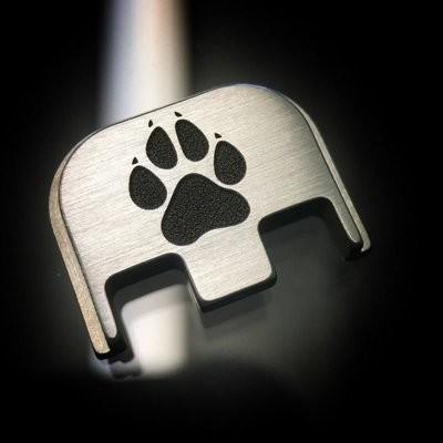 Dog Paw - Titanium Back Plate