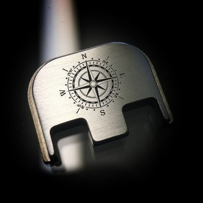 Compass - Titanium Back Plate
