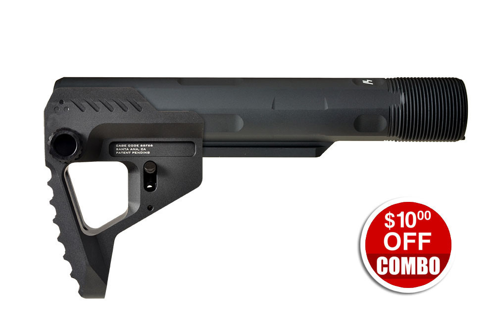 Pit Viper Stock + Strike Industries Advanced Receiver Extension - Combo