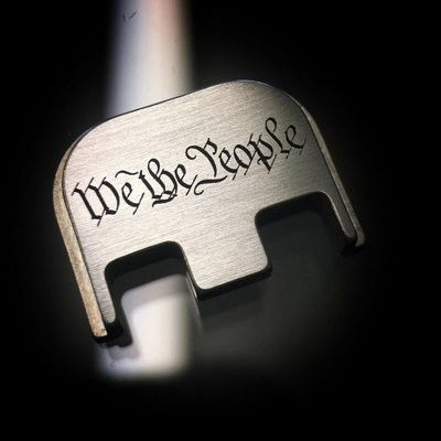 We The People - Titanium Back Plate