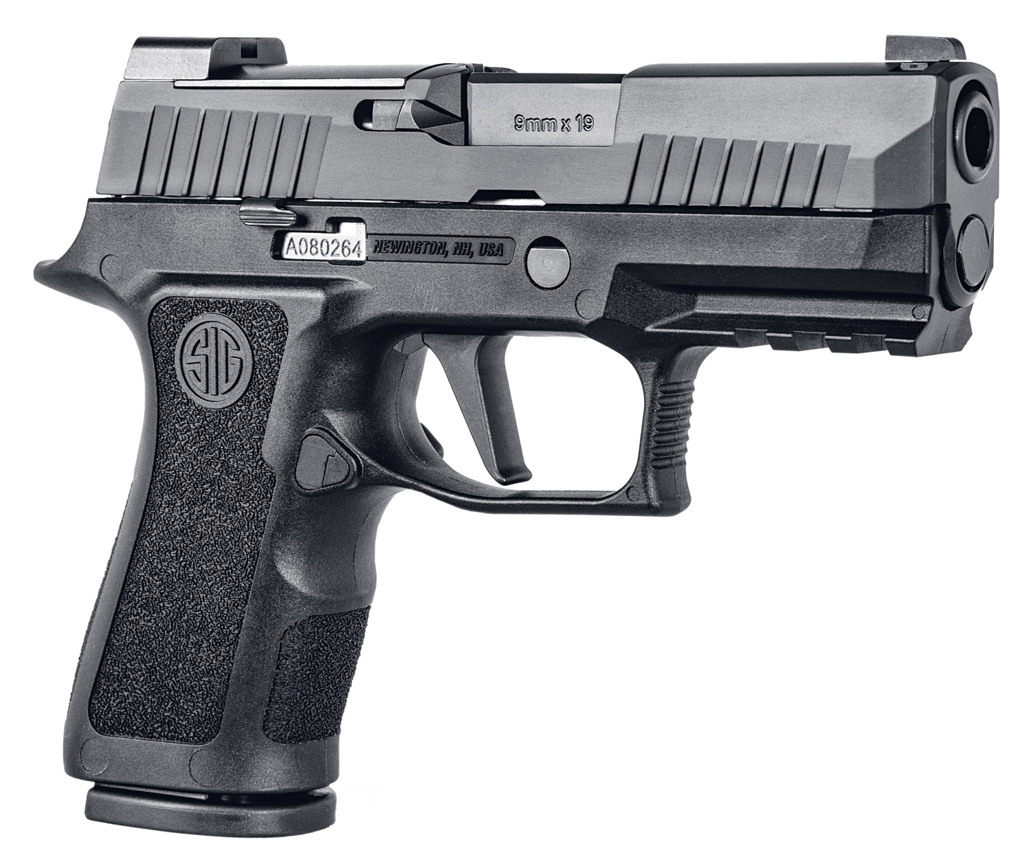 """Sig Sauer - P320 Compact 9mm Luger Double 3.6"""" 10+1 - X-Ray3  Polymer Grip - Stainless Steel Frame - Nitron Stainless Steel Slide - Black"""