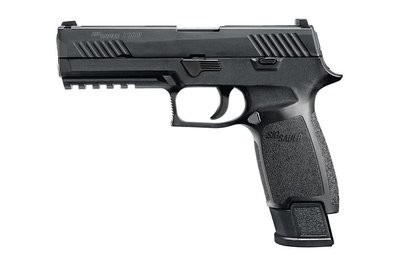 80% Sig Sauer - P320 Full-Size Tacops 9mm Striker-Fired Pistol with 4 Magazines