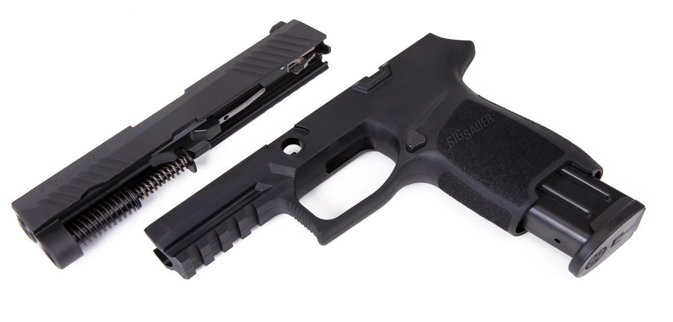 Caliber X-Change Kit - P320 Compact - 9mm - 15 Rnd Mag - Blk