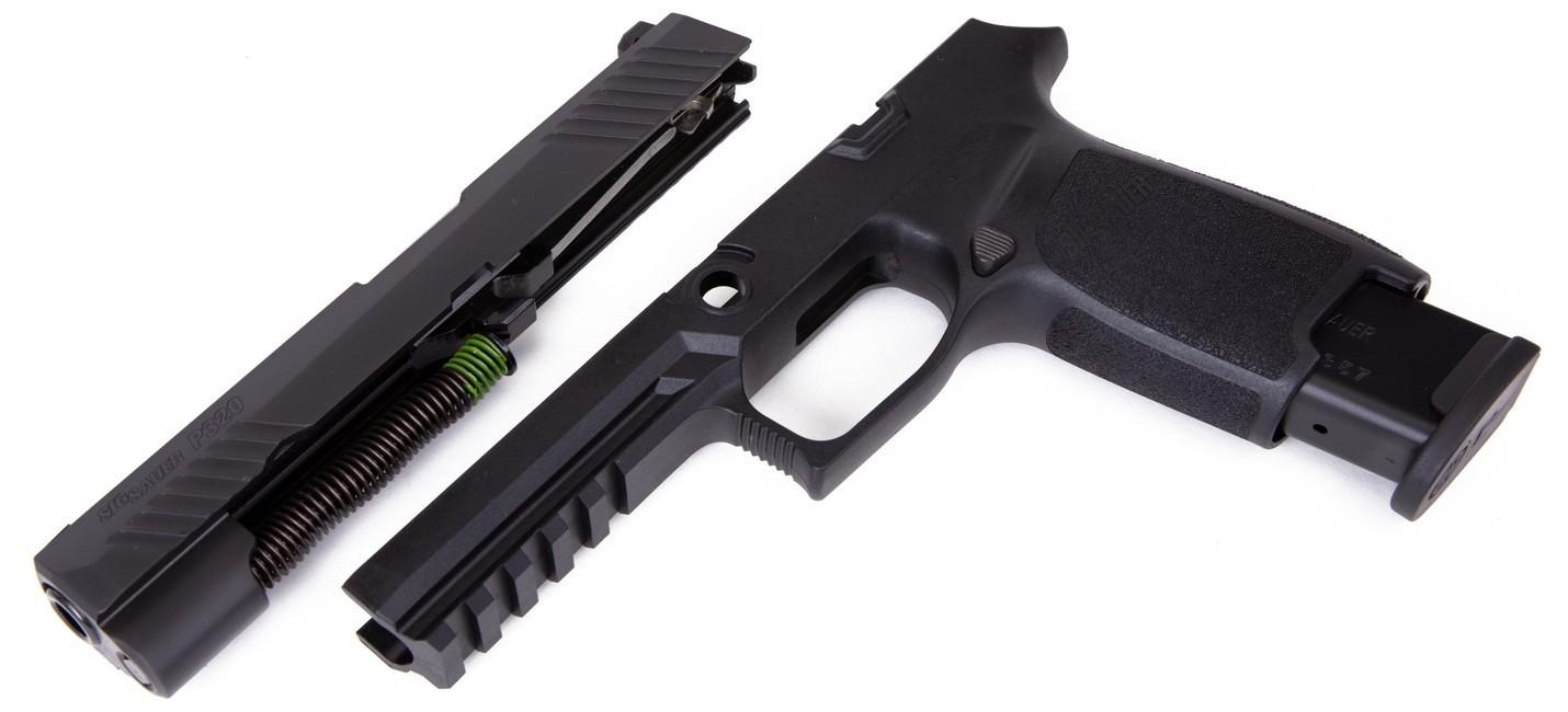 Caliber X-Change Kit - P320 Full - .357SIG - 10 Rnd Mag - Blk