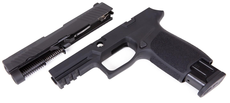 Caliber X-Change Kit - P320 Carry - 9mm - 17 Rnd Mag - Blk