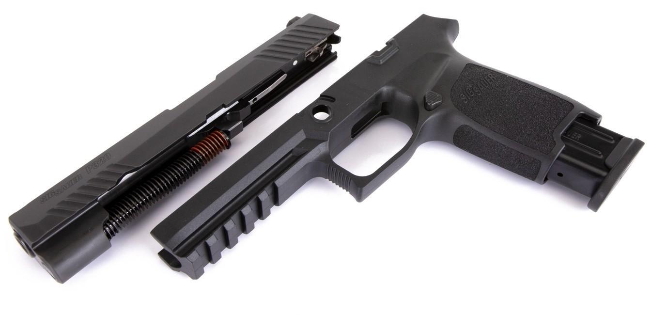 Caliber X-Change Kit - P320 Full - 9mm - 17 Rnd Mag - Blk