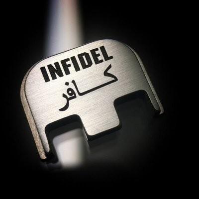 Infidel - Titanium Back Plate