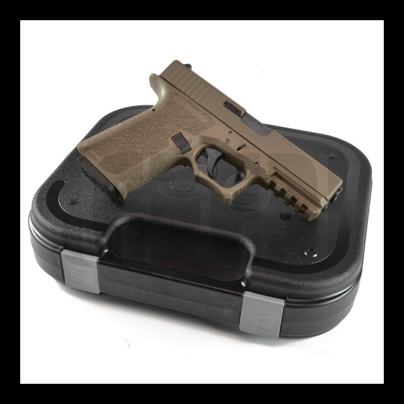 Glock G17 FDE 80% Pistol Build Kit - 9mm - Polymer80